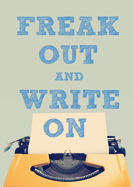 freak out and write on