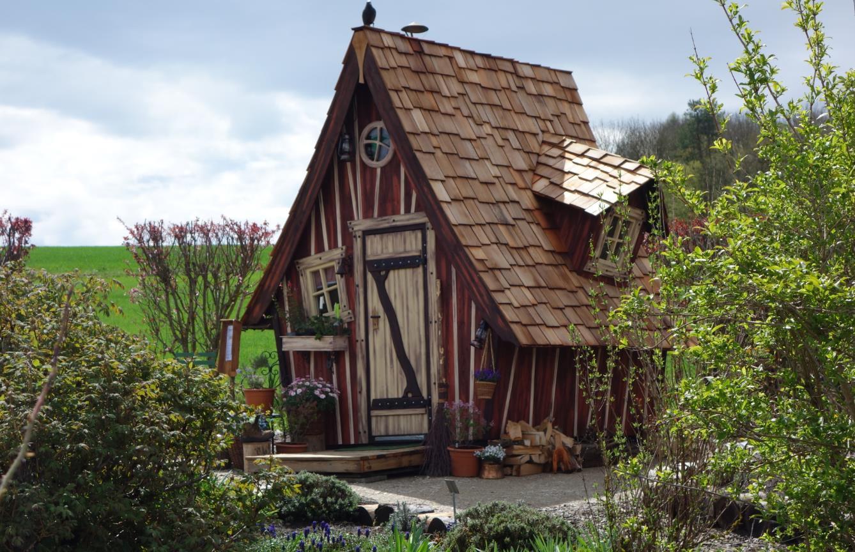 hexenhaus für garten meiselbach mobilheime: hexenhaus im garten