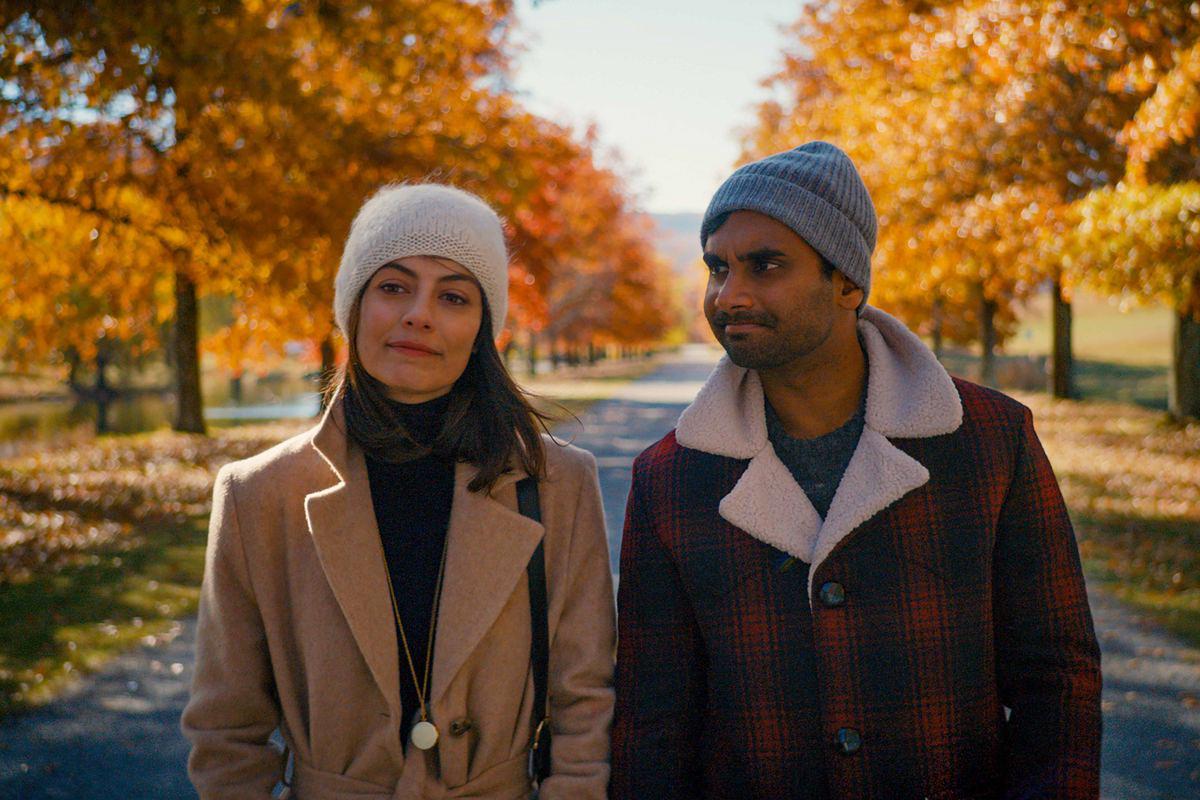 Francesca (Alessandra Mastroniani) y Dev (Aziz Ansari) en 'Master of None'