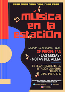 Al ritmo de la cumbia arranca el ciclo de espectáculos musicales de la Biblioteca Popular Monte Chingolo