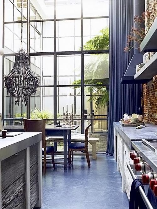 The Peak of Très Chic: Needing, Wanting, Loving: Steel Windows