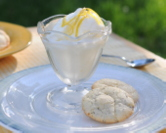 Lemon Crinkle Cookies with Poppy Seeds