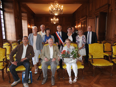ROUEN. Lucette et Jean Laurent ont choisi un après-midi du mois d'août pour célébrer leurs noces de diamant.