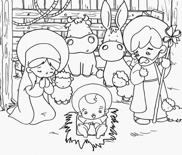 Dibujos navidenos para colorear los ninos - Dibujos navidenos para ninos ...