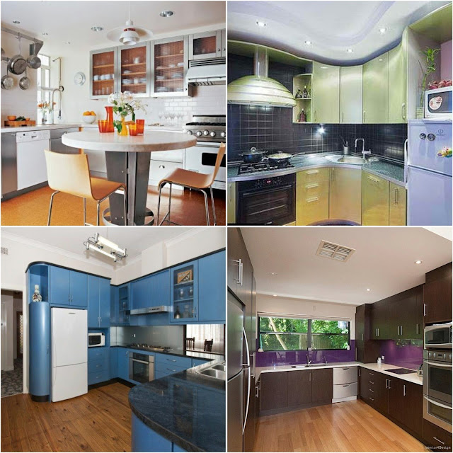 Kitchen Design Ideas 3*3 And 2*3 m2 Small Kitchens
