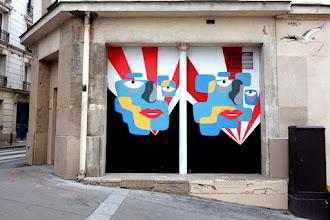Sunday Street Art : Theo - square Bolivar - Paris 19