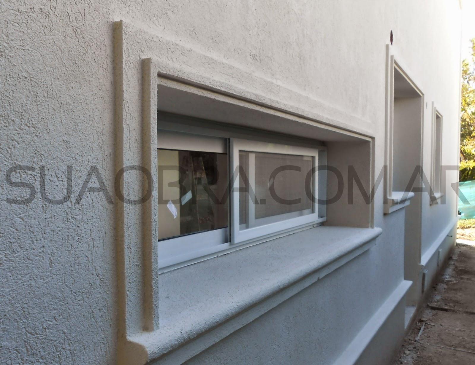 Revestimiento de paredes exteriores tarquini aplicacion - Revestimiento de fachadas exteriores ...
