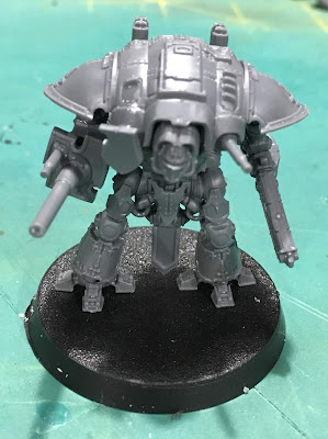 Titanicus WIP Imperial Knight Paladin