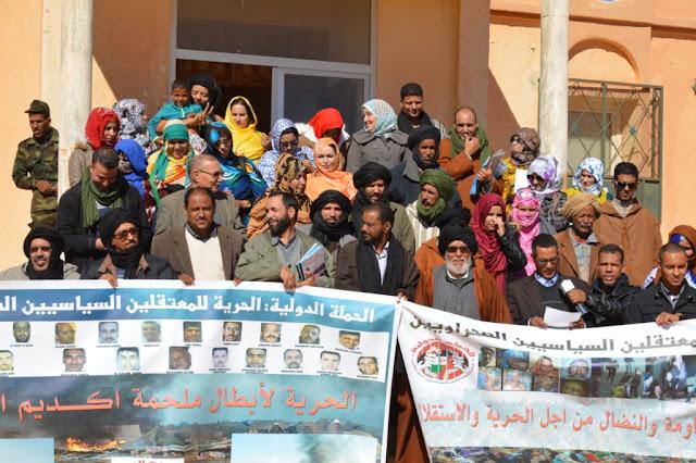 الأسرة الإعلامية تجدد تضامنها المطلق مع المعتقلين السياسيين الصحراويين بسجون الاحتلال المغربي