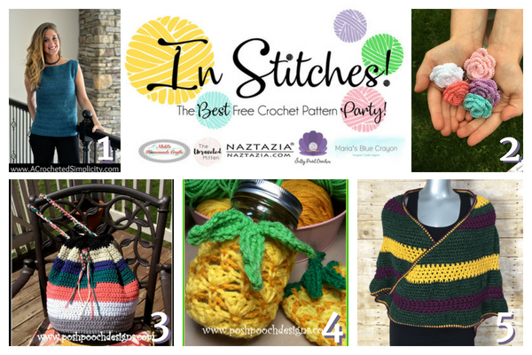 In Stitches Best Free Crochet Patterns Link Up Party Week 12