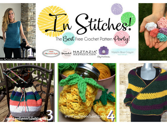In Stitches - Best Free Crochet Patterns Link Up Party - Week #12