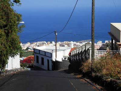 Strade ripide di La Palma