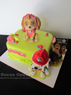 cake skye marshall chase paw patrol