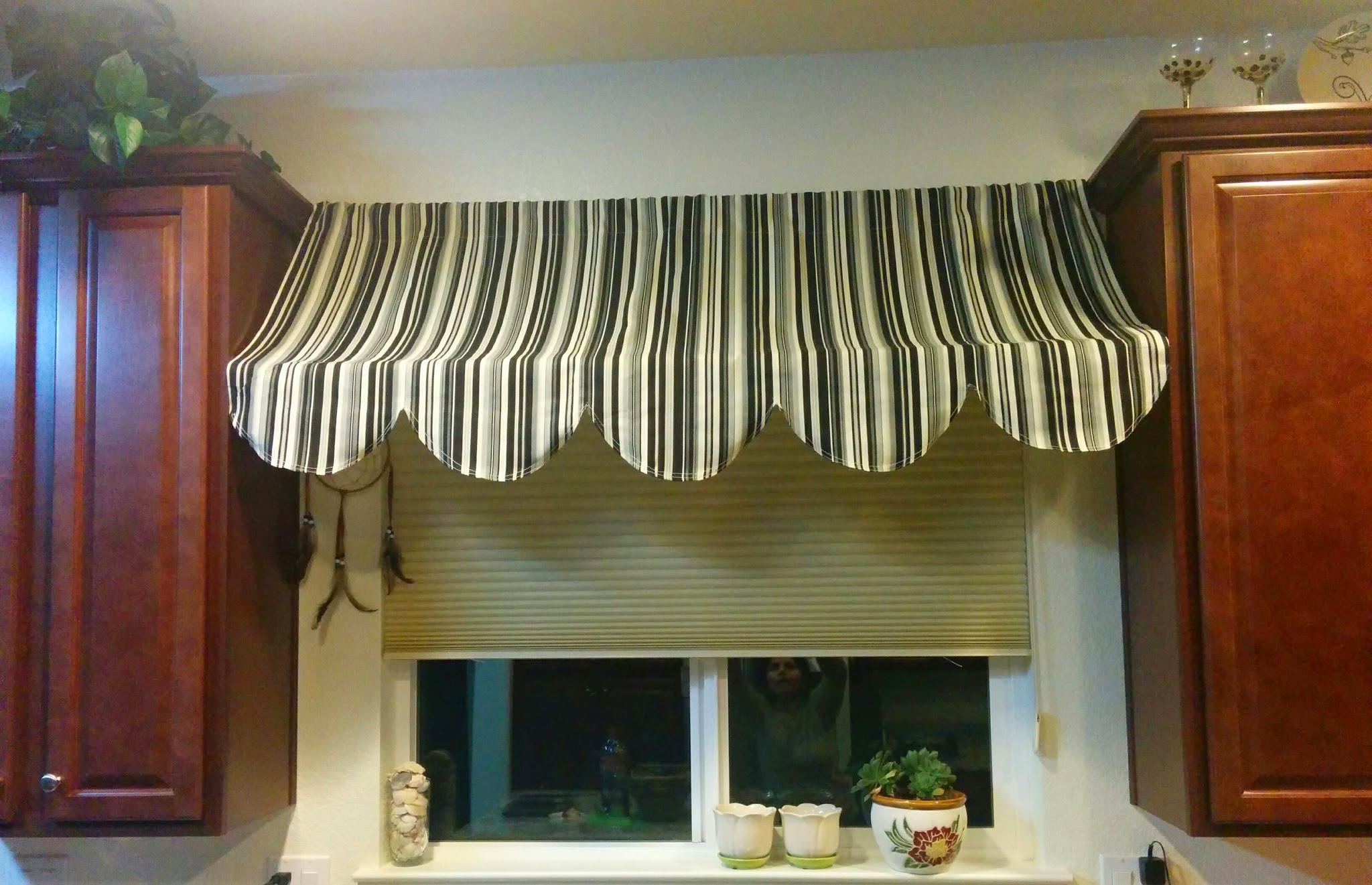 I Loved The Indoor Awning Idea And Knew Right Away That Wanted One For My Kitchen Window