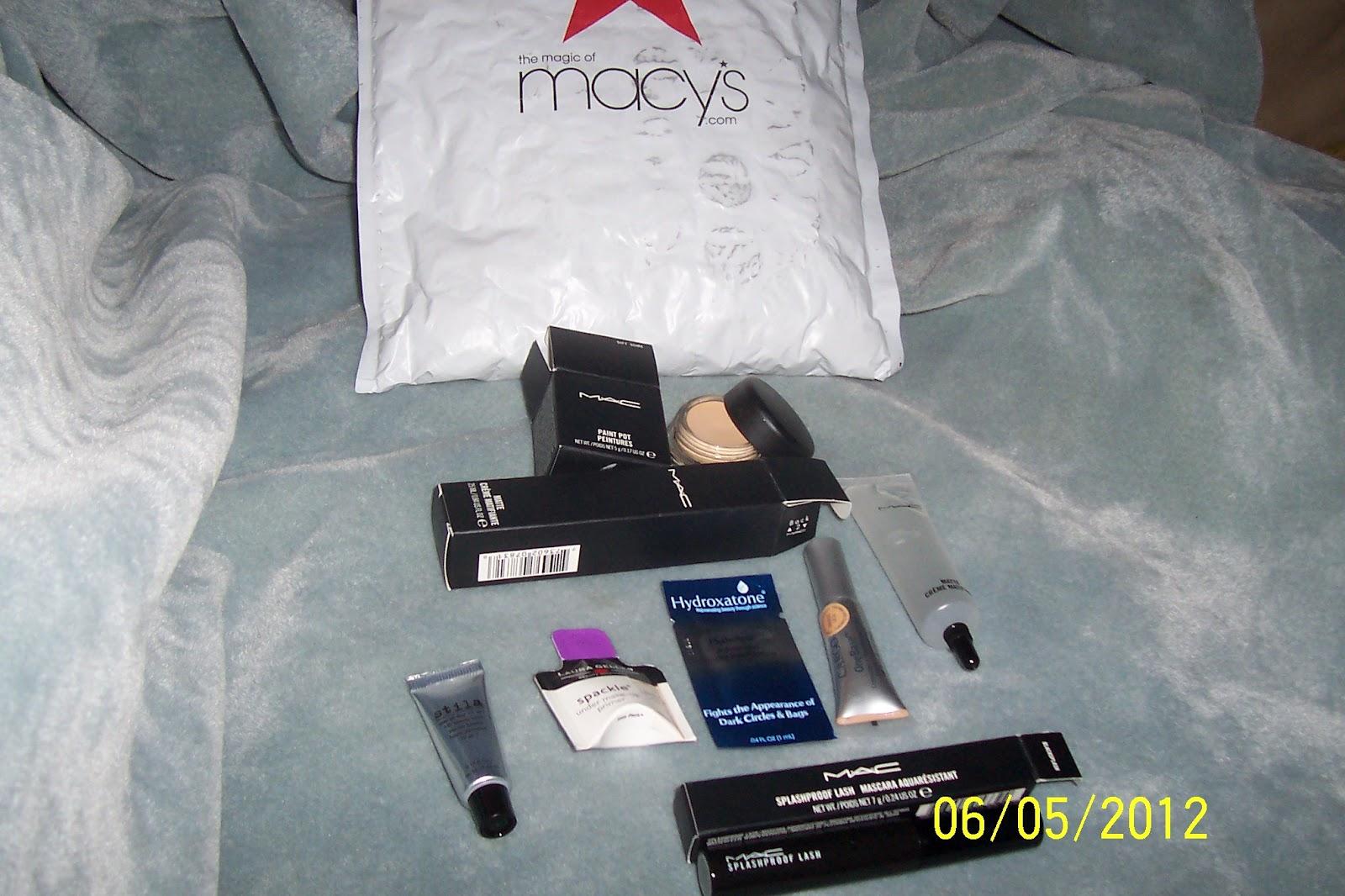 Marina's Makeup Blog: Macy's Online Mini Mac Haul 06/01/2012