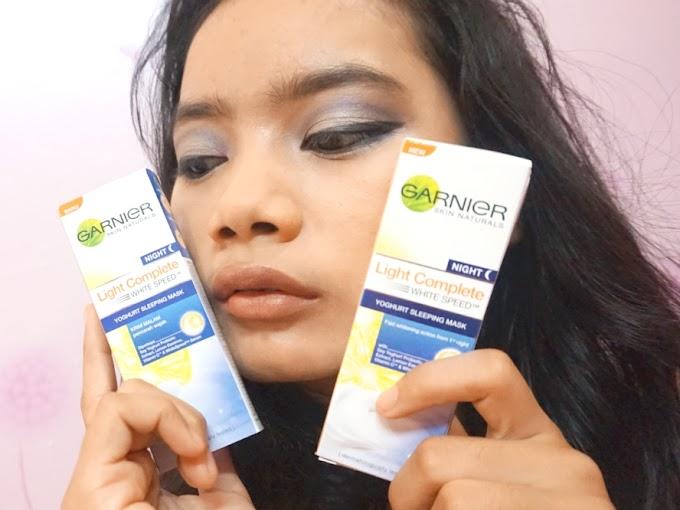 Review Garnier Yogurt Sleeping Mask
