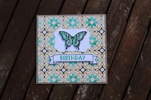 Moroccan Designer Series Paper Stampin' Up!