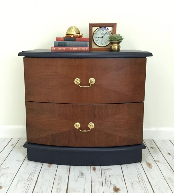 MCM dresser with bail pulls