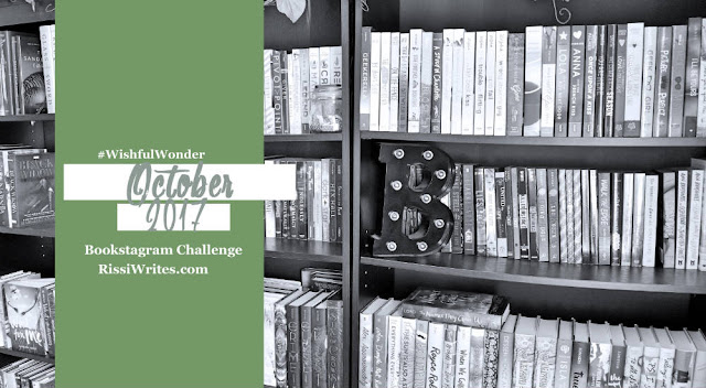 Bookstagram Challenge | October 2017 #WishfulWonder Challenge