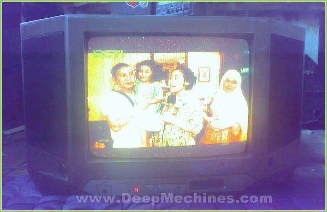 Perbaikan Kerusakan Mesin TV China WCOM - Gambar Siaran Dominan Warna Kuning