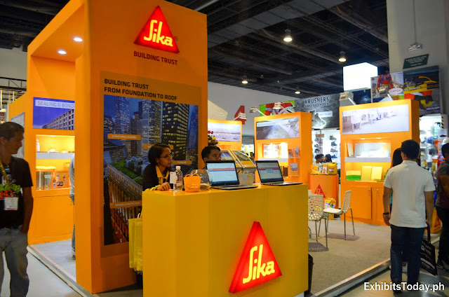 Sika Tradeshow Display