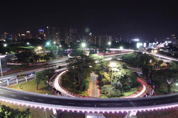 Biaya Pembangunan Simpang Susun Semanggi Masih Dihitung