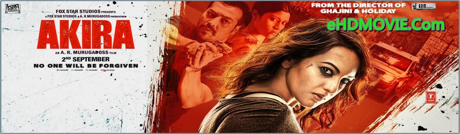 Akira 2016 Full Movie Hindi 720p - 480p ORG HDRip 350MB - 1.3 ESubs Free Download