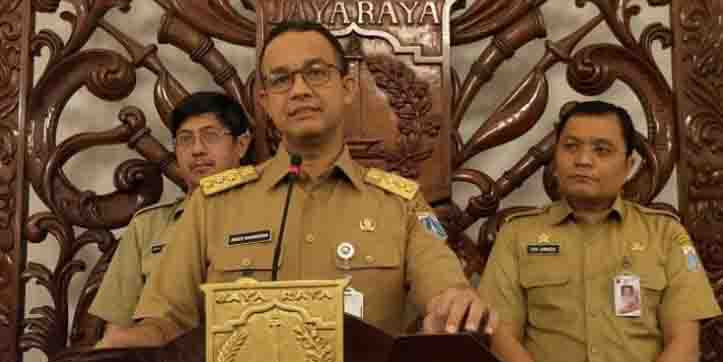 "Keras Cegah Korupsi, Gubernur Anies: Tidak setuju ""Jakarta Satu"" silahkan mundur"