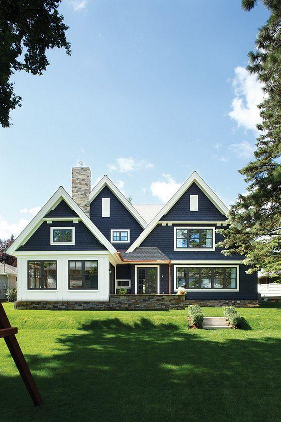 True blue hamptons style coastal style bloglovin for True style homes