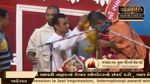 Sanskruti TV channel started on Intelsat20 satellite