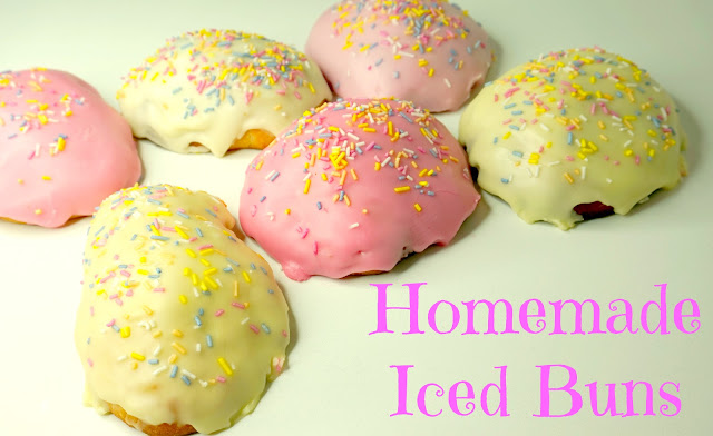 Homemade Iced Bun Recipe