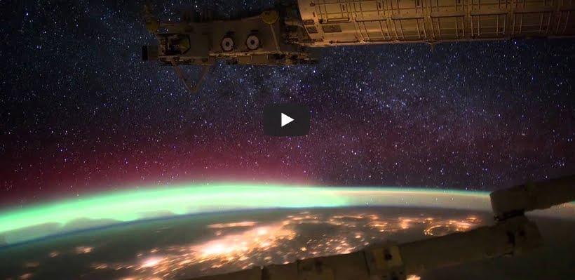 Aurora boreale, incredibili immagini NASA dalla Stazione Spaziale.