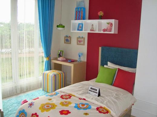 tips cara menata kamar tidur anak perempuan contoh