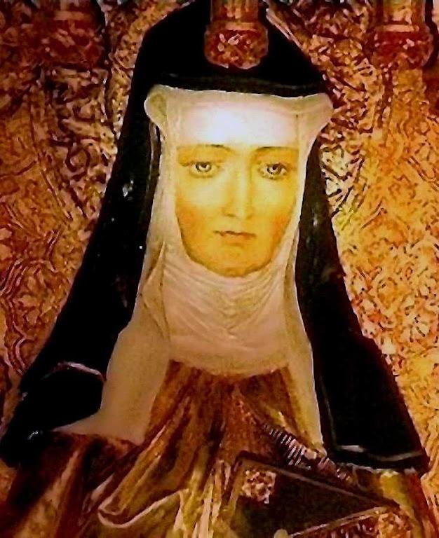"""Santa Hildegarda de Bingen O.S.B., chamada """"a Sibila do Reno"""""""