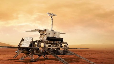 Where will land the rover ExoMars mission in 2018?