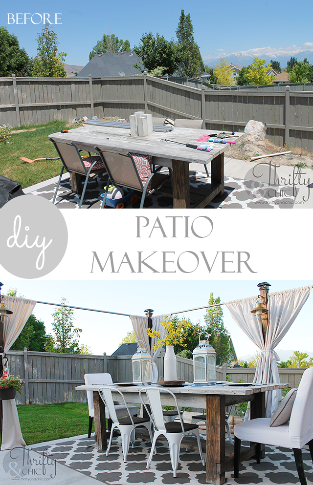 DIY Outdoor Patio Decor And Decorating Ideas Plus Free Plans On The Privacy Screen Farmhouse