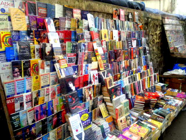 our world tuesday, lower parel, street, street bookstore, mumbai, india,