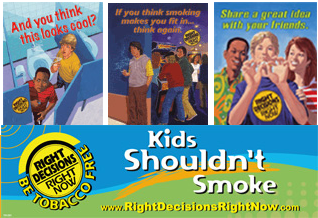 Image: Free Kids Shouldn't Smoke resources