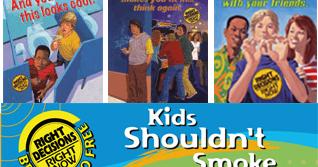 FREEBIE: Kids Shouldn't Smoke - Bumper Sticker + Posters (US)