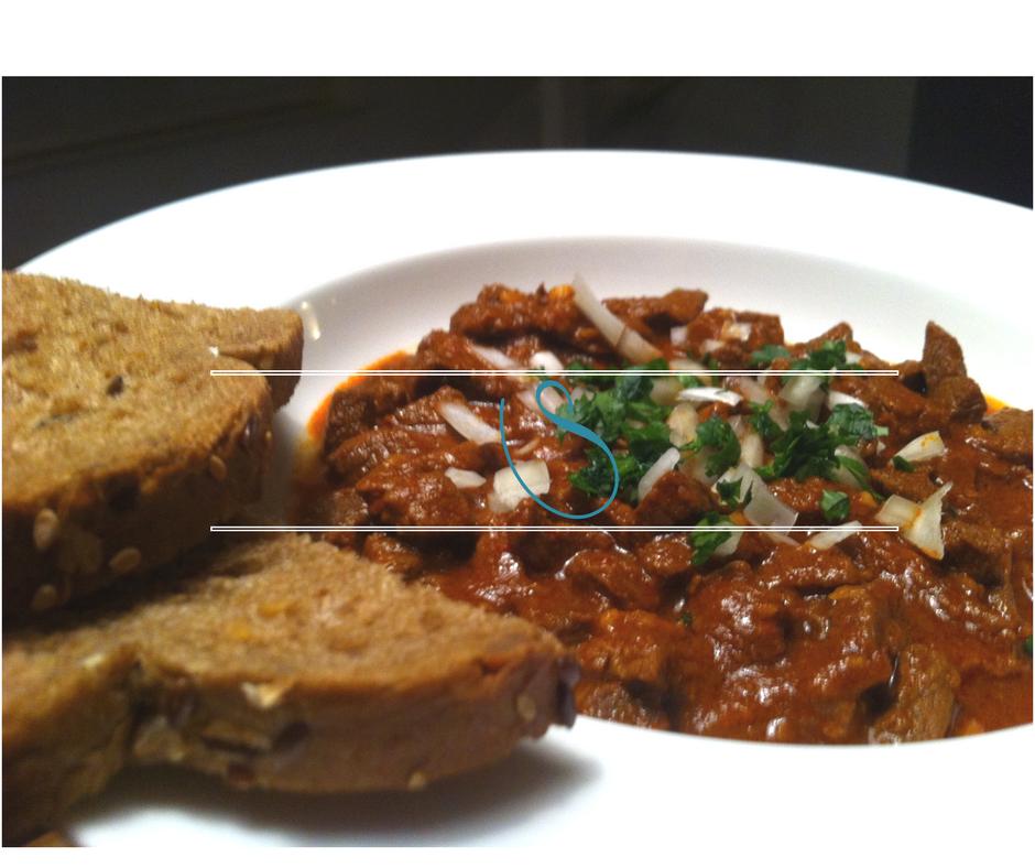 "Tunisian cumin spiced beef stew - Ragoût de Boeuf au cumin Tunisien, ""Kamounia"""