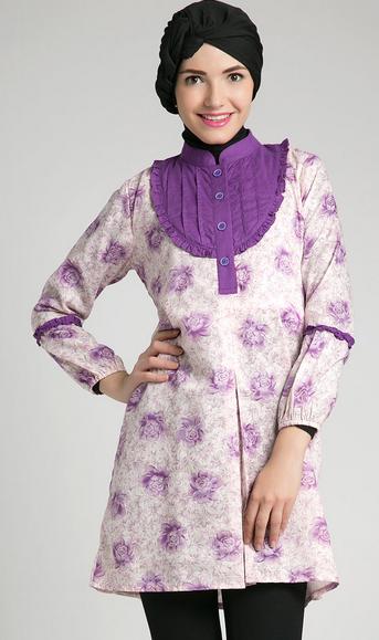 Contoh Busana Muslim Wanita Model Baru