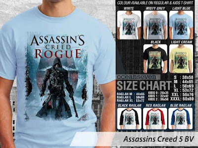 T shirt Assassins Creed Rogue
