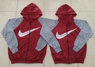 Jual Online Jacket Nike Kimono Tali Couple Murah Jakarta Bahan Babytery Terbaru