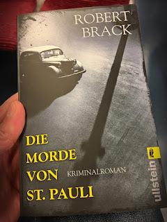 """""""Die Morde von St. Pauli"""" Historischer Kriminalroman von Robert Brack"""