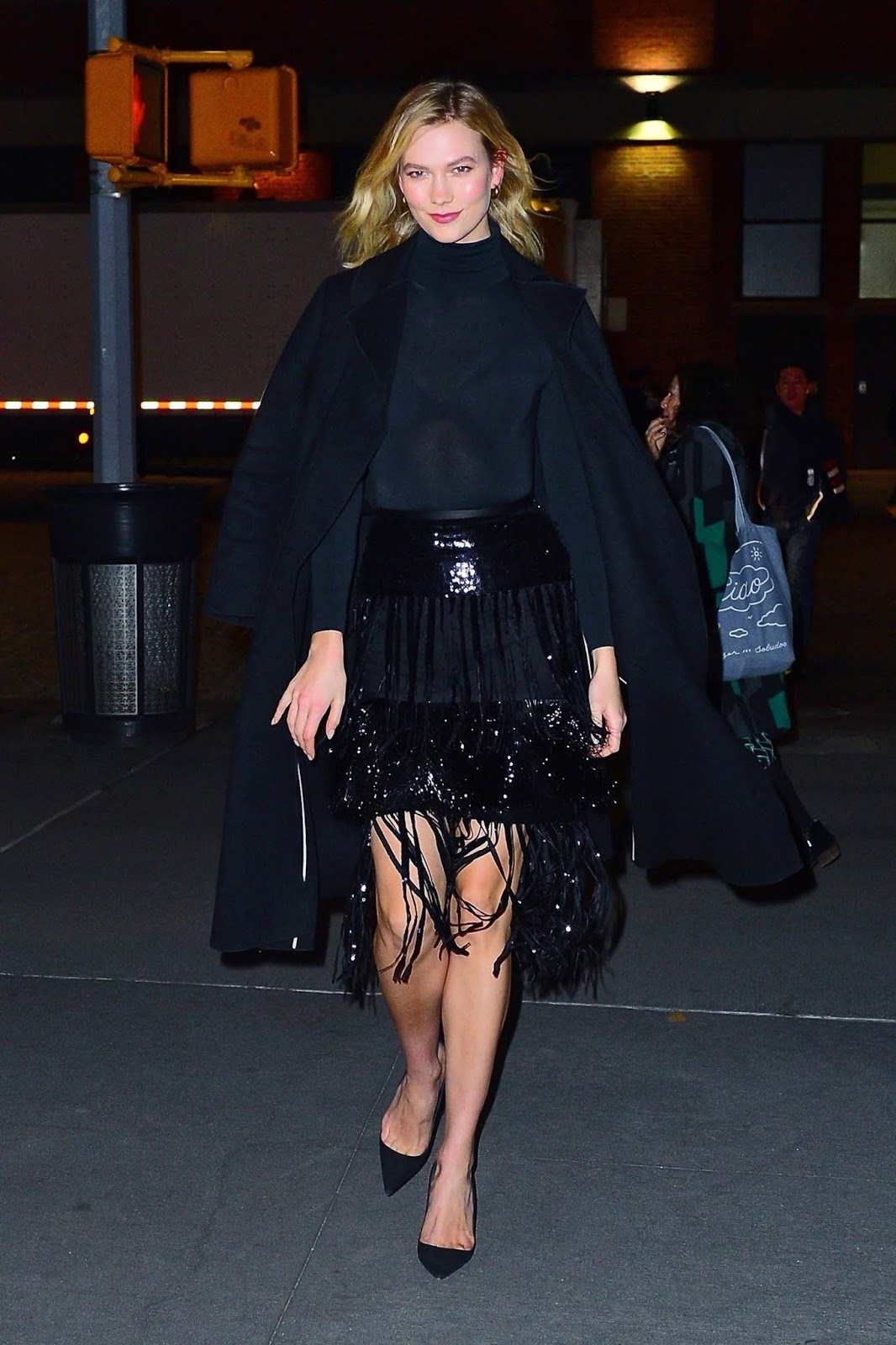 Karlie Kloss - Diane Von Furstenberg throws fashion party during NYFW in NYC - 02/10/2019