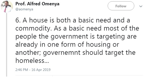6 - Kenyan Professor breaks down the #HousingFundLevy and reveals how UHURU intends to steal from Kenyans