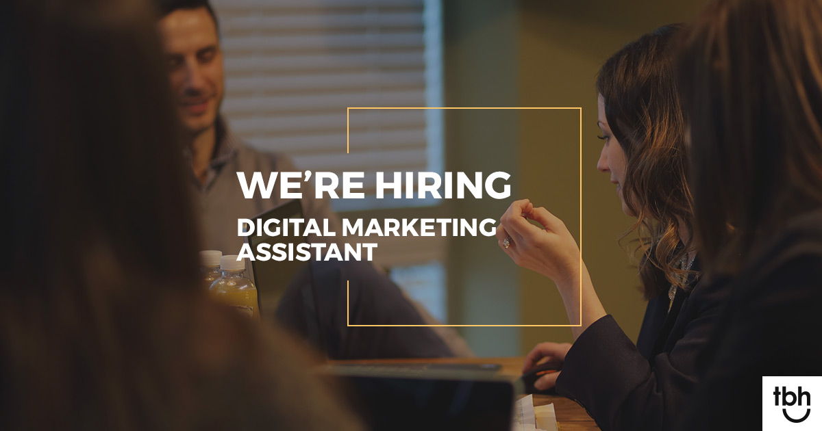 We are hiring a digital marketing assistant