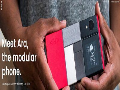 google ara phone release