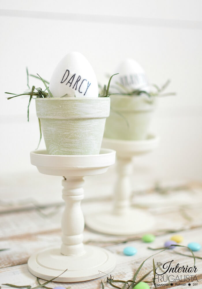 Budget-Friendly DIY Easter Place Holders