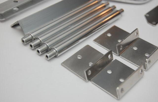 Tamiya Clod Buster ESP Clodzilla II aluminum upgrades